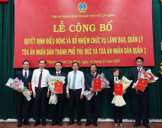 Điều động Chánh án TAND quận 1 Nguyễn Thành Vinh làm Chánh án TAND TP Thủ Đức ảnh 1
