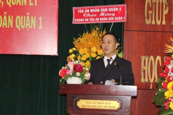 Điều động Chánh án TAND quận 1 Nguyễn Thành Vinh làm Chánh án TAND TP Thủ Đức ảnh 2