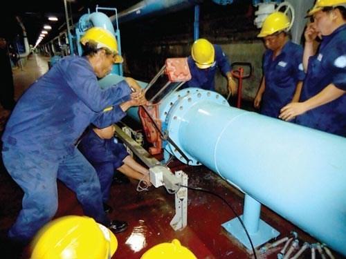 Cúp nước diện rộng ở trung tâm TPHCM trong nhiều giờ ảnh 1