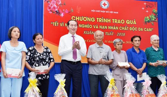 Chủ tịch nước Trần Đại Quang dâng hương tại Đền tưởng niệm liệt sĩ Bến Dược ảnh 3