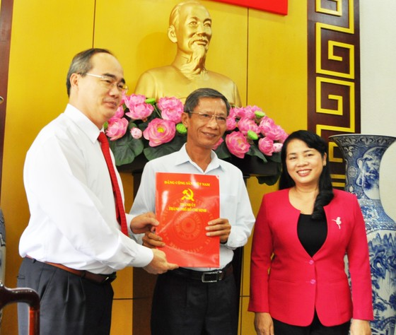 Đồng chí Trần Kim Yến giữ chức Bí thư Quận ủy quận 1 ảnh 2