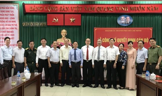 Bí thư Thành ủy TPHCM Nguyễn Thiện Nhân trao quyết định cán bộ tại quận Tân Bình ảnh 3