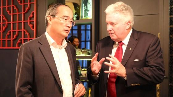 Bí thư Thành ủy TPHCM Nguyễn Thiện Nhân bắt đầu chuyến thăm Australia ảnh 1