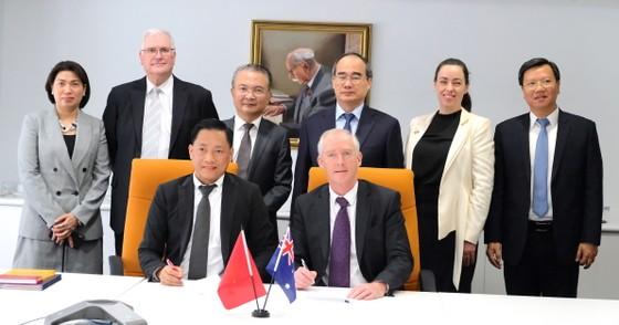 Bí thư Thành ủy Nguyễn Thiện Nhân hội kiến Thủ tướng Australia Scott Morrison ảnh 8