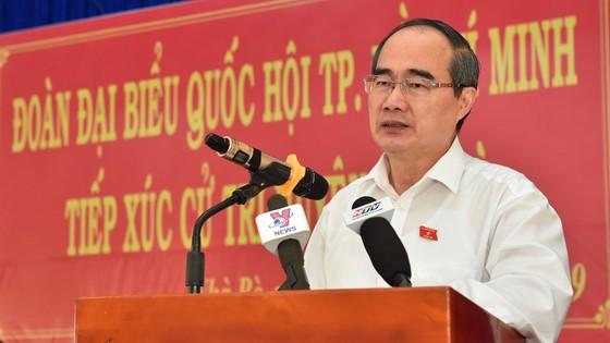 Cử tri huyện Nhà Bè nêu bức xúc về nhà, đất với Bí thư Thành ủy TPHCM Nguyễn Thiện Nhân ảnh 1