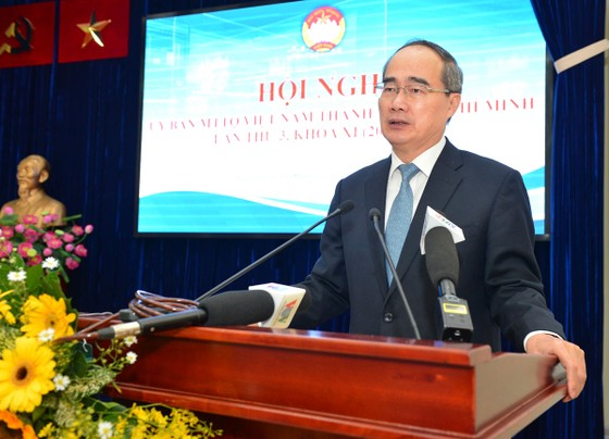 Bí thư Thành ủy TPHCM Nguyễn Thiện Nhân: Xây dựng đề án Nhân dân giám sát Đảng, Chính quyền ảnh 1