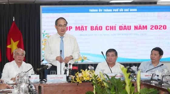 Bí thư Thành ủy TPHCM Nguyễn Thiện Nhân chia sẻ thông tin về nhân sự khóa tới ảnh 1