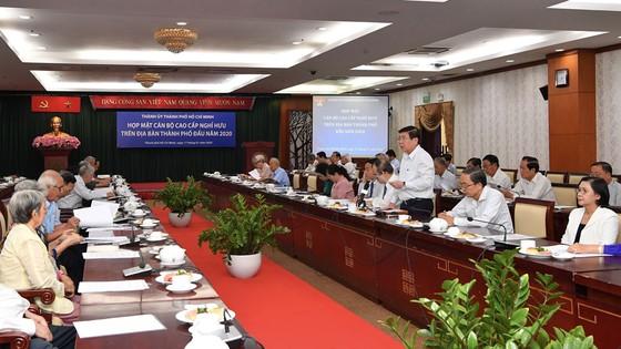 Bí thư Thành ủy TPHCM Nguyễn Thiện Nhân họp mặt cán bộ cao cấp nghỉ hưu ảnh 2