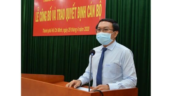 Bí thư Thành ủy TPHCM Nguyễn Thiện Nhân trao quyết định cán bộ tại quận 9 ảnh 3