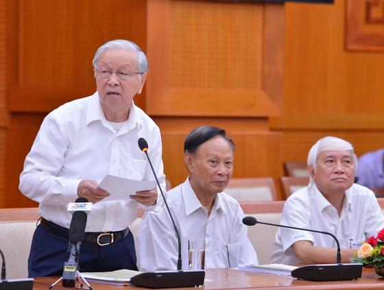 Cán bộ cao cấp nghỉ hưu trên địa bàn TPHCM góp ý văn kiện Đại hội Đảng ảnh 2