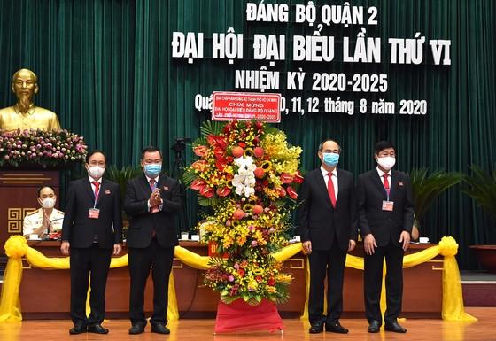 Bí thư Thành ủy TPHCM Nguyễn Thiện Nhân: Quận 2 góp phần vào xây dựng hạt nhân sáng tạo của TPHCM ảnh 1