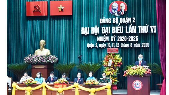 Bí thư Thành ủy TPHCM Nguyễn Thiện Nhân: Quận 2 góp phần vào xây dựng hạt nhân sáng tạo của TPHCM ảnh 2