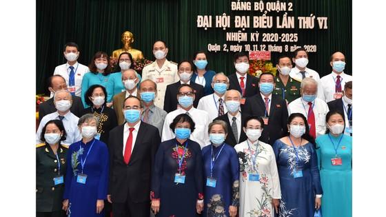 Bí thư Thành ủy TPHCM Nguyễn Thiện Nhân: Quận 2 góp phần vào xây dựng hạt nhân sáng tạo của TPHCM ảnh 6