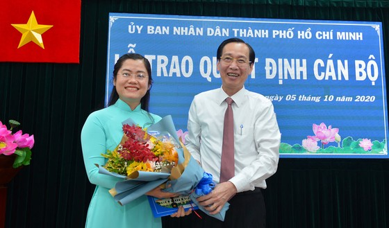 Ông Nguyễn Minh Nhựt làm Chủ tịch UBND quận Bình Tân ảnh 2