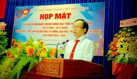 TPHCM: Nhiều quận, huyện kỷ niệm 90 năm Ngày truyền thống MTTQ Việt Nam ảnh 1