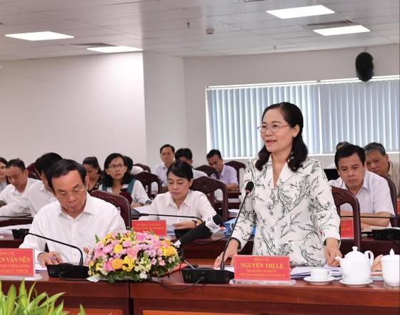 Bí thư Thành ủy TPHCM Nguyễn Văn Nên: Việc liên quan đến người dân phải bàn với dân ảnh 7