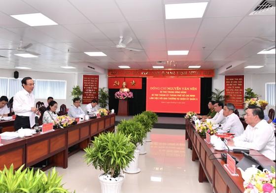 Bí thư Thành ủy TPHCM Nguyễn Văn Nên: Việc liên quan đến người dân phải bàn với dân ảnh 1