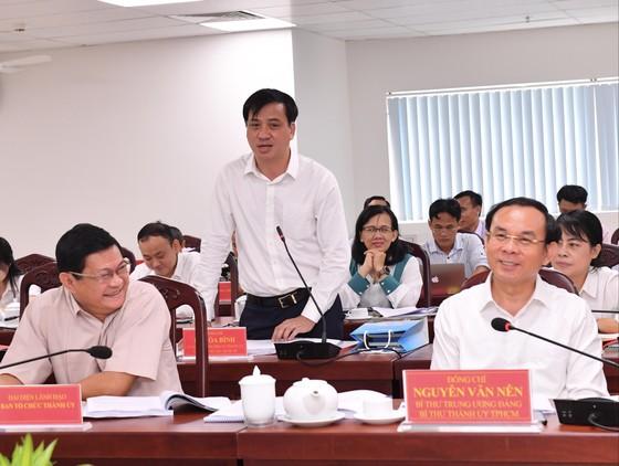 Bí thư Thành ủy TPHCM Nguyễn Văn Nên: Việc liên quan đến người dân phải bàn với dân ảnh 5