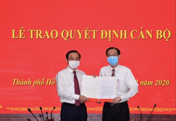 Đồng chí Lê Thanh Liêm được phân công, bổ nhiệm làm Trưởng Ban Nội chính Thành ủy ảnh 1