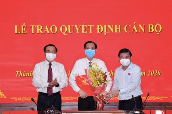 Đồng chí Lê Thanh Liêm được phân công, bổ nhiệm làm Trưởng Ban Nội chính Thành ủy ảnh 2
