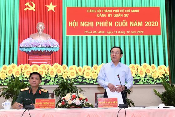Đồng chí Nguyễn Văn Nên giữ chức Bí thư Đảng ủy Quân sự TPHCM ảnh 1