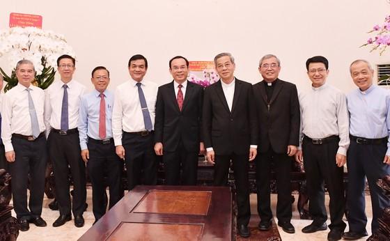 Bí thư Thành ủy TPHCM Nguyễn Văn Nên gửi lời tri ân đến đồng bào công giáo chung tay vượt qua khó khăn ảnh 2