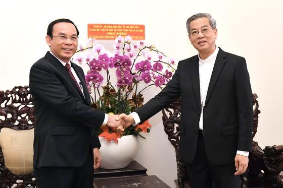Bí thư Thành ủy TPHCM Nguyễn Văn Nên gửi lời tri ân đến đồng bào công giáo chung tay vượt qua khó khăn ảnh 1
