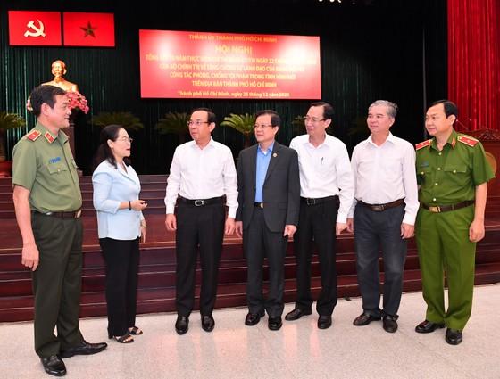 Bí thư Thành ủy TPHCM Nguyễn Văn Nên: 'Khi nghe báo tin tội phạm, có mặt ngay không chần chừ' ảnh 2