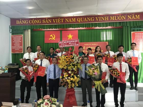 Ra mắt Đảng bộ, Ban Thường vụ, Bí thư và các Phó Bí thư phường Võ Thị Sáu ảnh 1