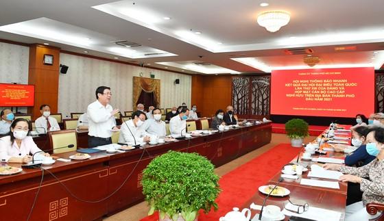 Bí thư Thành ủy TPHCM Nguyễn Văn Nên gặp gỡ cán bộ cao cấp nghỉ hưu trên địa bàn TPHCM ảnh 2