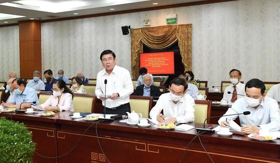 Bí thư Thành ủy TPHCM Nguyễn Văn Nên gặp gỡ cán bộ cao cấp nghỉ hưu trên địa bàn TPHCM ảnh 3