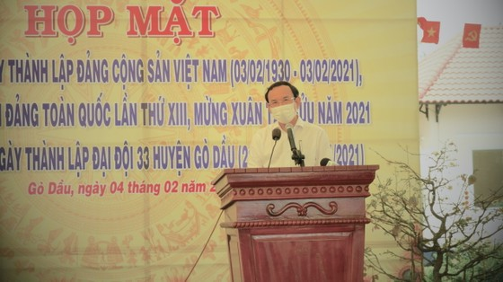 Bí thư Thành ủy TPHCM Nguyễn Văn Nên: Tạo nỗ lực mới, đưa đất nước phát triển hùng cường ảnh 2