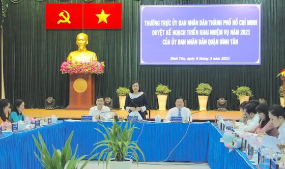 Quận Bình Tân có thể chạm mức 1 triệu dân trong vài năm tới ảnh 1