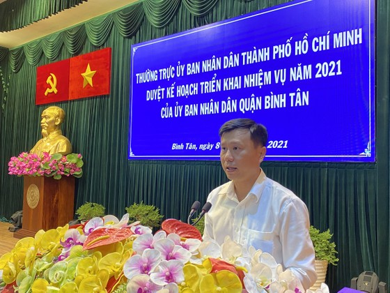 Quận Bình Tân có thể chạm mức 1 triệu dân trong vài năm tới ảnh 2