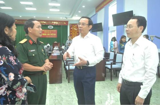 Bí thư Thành ủy TPHCM Nguyễn Văn Nên: TP Thủ Đức có điều kiện đặc thù, thì phải có cơ chế đặc thù ảnh 5