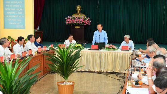 Bí thư Thành ủy TPHCM Nguyễn Văn Nên khảo sát thực tế tại huyện Cần Giờ ảnh 5