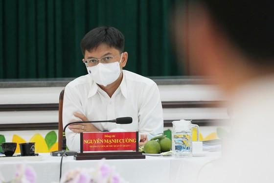 Bí thư Thành ủy TPHCM Nguyễn Văn Nên mong muốn khôi phục hình ảnh vàng son của quận 5 ảnh 5