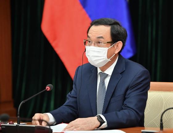 Bí thư Thành ủy TPHCM Nguyễn Văn Nên họp trực tuyến với Thống đốc thành phố Saint Petersburg ảnh 2