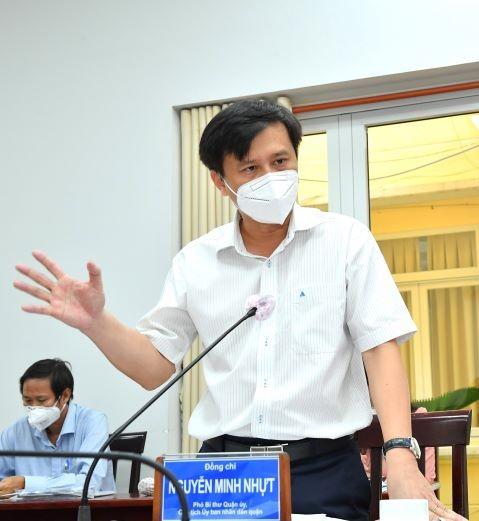 Bí thư Thành ủy TPHCM kiểm tra công tác phòng chống dịch Covid-19 tại điểm nóng Bình Tân ảnh 3
