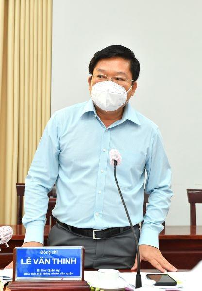 Bí thư Thành ủy TPHCM kiểm tra công tác phòng chống dịch Covid-19 tại điểm nóng Bình Tân ảnh 4