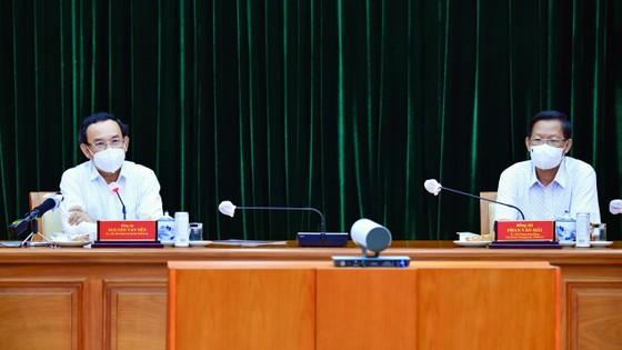 Bí thư Thành ủy TPHCM Nguyễn Văn Nên: Cách chức nếu không thực hiện nghiêm quy định phòng chống dịch ảnh 5