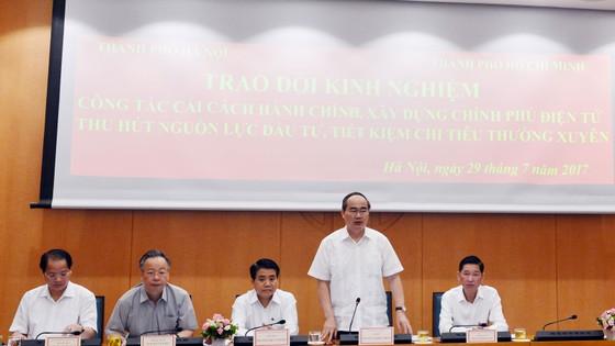TPHCM mong được Hà Nội chia sẻ mô hình để thu hút đầu tư ảnh 1