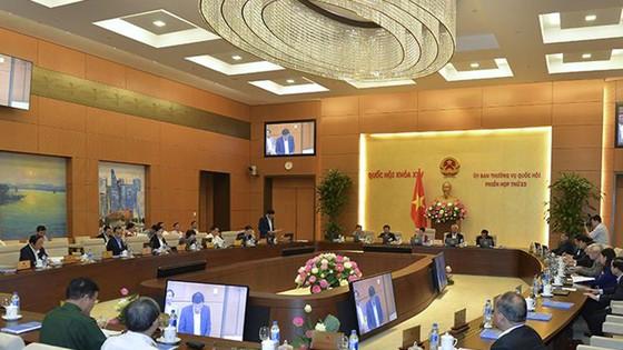 Ủy  ban Thường vụ Quốc hội khai mạc phiên họp thứ 23: Rút 4 dự án luật ra khỏi chương trình ảnh 1