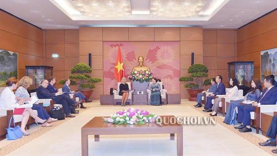 Chủ tịch Quốc hội Nguyễn Thị Kim Ngân tiếp Phó Chủ tịch Ủy ban châu Âu ảnh 1