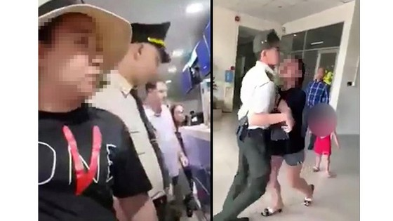 Giám đốc Công an TP Hà Nội đã ký quyết định kỷ luật nữ đại úy đại náo sân bay  ảnh 1