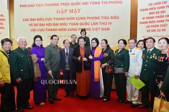 Phó Chủ tịch Thường trực Quốc hội Tòng Thị Phóng gặp mặt các đại biểu cựu thanh niên xung phong ảnh 2