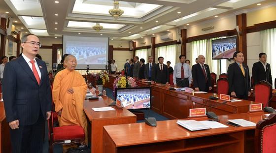 Khai mạc trọng thể kỳ họp thứ 9 tại Nhà Quốc hội và 63 điểm cầu truyền hình trên toàn quốc ảnh 4