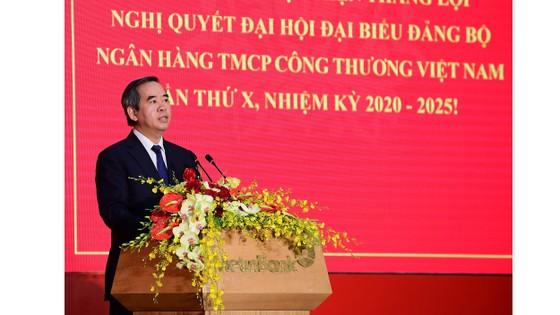 Đồng chí Lê Đức Thọ tiếp tục được bầu làm Bí thư Đảng ủy VietinBank ảnh 2