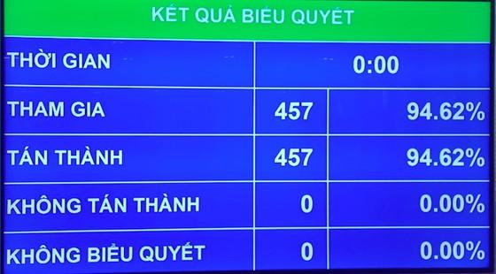Quốc hội thông qua EVFTA và EVIPA với tỷ lệ tán thành gần tuyệt đối ảnh 1