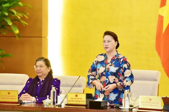 Ủy ban Thường vụ Quốc hội bế mạc phiên họp thứ 46  ảnh 1